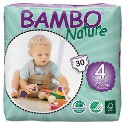 - BAMBO NATURE - Pieluchy Jednorazowe - Ekologiczne - Zdrowe 4 Maxi 7-18 kg