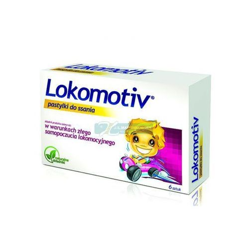 Leki na chorobę lokomocyjną, Lokomotiv pastyl.do ssan. 6 pastyl.