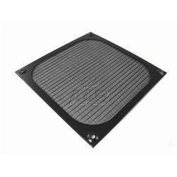 AAB Cooling Aluminiowy Filtr/Grill 80 Czarny - Czarny