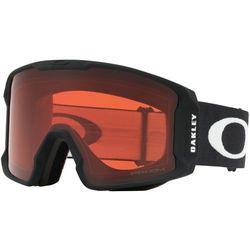 Oakley Line Miner Gogle zimowe Mężczyźni, matte black/w prizm rose 2020 Gogle narciarskie