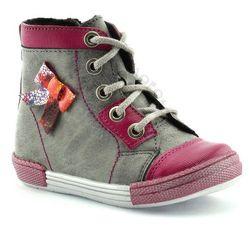 Buty zimowe dla dzieci Kornecki 04992 - Różowy ||Szary