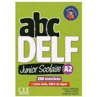 Książki do nauki języka, ABC DELF A2 junior scolaire książka + DVD + zawartość online - Chapiro Lucile, Payet Adrien, Salles Virginie