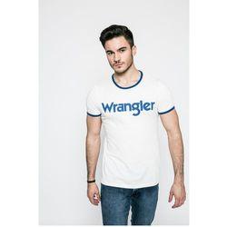 Wrangler - T-shirt KABEL TEE OFFWHITE