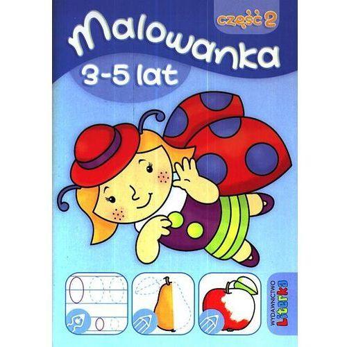 Książki dla dzieci, Malowanka 3-5 lat część 2 (opr. broszurowa)