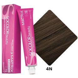 Matrix Socolor Beauty pielęgnująca farba do włosów odcień 4N (Medium Brown Neutral) 90 ml