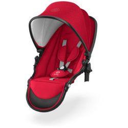 Kiddy Tandem Siedzisko do wózka Evostar 1 Chili Red - czerwony