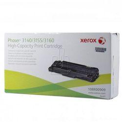 Xerox oryginalny toner 108R00909, black, 2500s, Xerox Phaser 3140, 3155, 3160