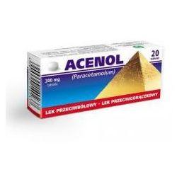 Acenol tabletki 0.3 x 20 tabletek