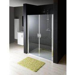 ONE drzwi prysznicowe do wnęki 120x190cm szkło czyste GO2812