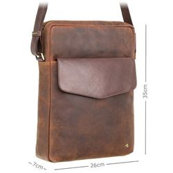 Pionowa torba na ramię na laptop 13'' visconti tc-72