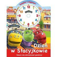 Książki dla dzieci, Stacyjkowo Książka z zegarem Dzień w Stacyjkowie - Praca zbiorowa (opr. kartonowa)