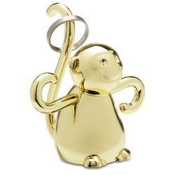 Wieszak na biżuterię Zoola Małpka Brass MODERN HOUSE bogata chata