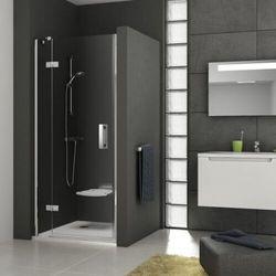 Ravak SmartLine drzwi prysznicowe SMSD2-110b, lewe, Chrom+Transparent 190 cm 0SLDBA00Z1