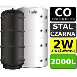 BUFOR JOULE 2000L 2W zbiornik buforowy akumulacyjny CO z 2 wężownicami Wysyłka gratis!