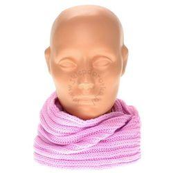 Ciepły szalik dziecięcy - Różowy Czapki 14,90 zł (-25%)