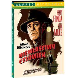 Niewłaściwy człowiek (DVD) - Alfred Hitchcock OD 24,99zł DARMOWA DOSTAWA KIOSK RUCHU