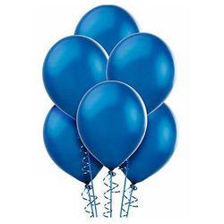 Balony lateksowe średnie - 10 cali - niebieskie - 100 szt.