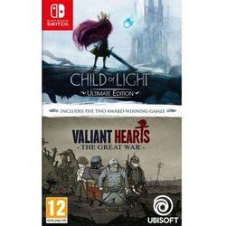 Child of Light + Valiant Hearts Double Pack (SWITCH) // WYSYŁKA 24h // DOSTAWA TAKŻE W WEEKEND! // TEL. 696 299 850