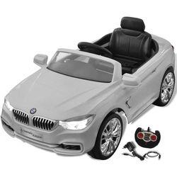 vidaXL BMW - samochód zabawka dla dzieci na baterie z pilotem biały Darmowa wysyłka i zwroty