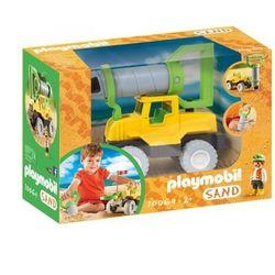 Playmobil Sand: Samochód z wiertłem do piasku (70064). Wiek: 2+