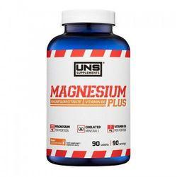 Minerały UNS MAGNESIUM PLUS 90 tabl. Najlepszy produkt Najlepszy produkt tylko u nas!