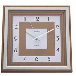 KINGHOFF Zegar ścienny kwadratowy 31x31 cm KH-5024