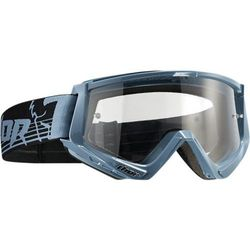 THOR GOGLE CONQUER OFFROAD STEEL/BLACK =$
