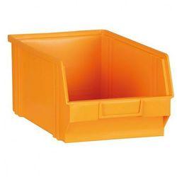 Plastikowe pojemniki, 305x480x177 mm, żółto-pomarańczowy
