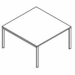 Stół konferencyjny BSA123 (stelaż metalowy) wymiary: 137x140x75,8 cm
