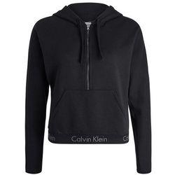 Calvin Klein Underwear HALF ZIP HOODIE Koszulka do spania black