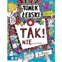 Książki dla dzieci, Tomek Łebski Tom 8 Tak! Nie (a może..) - Liz Pichon (opr. miękka)