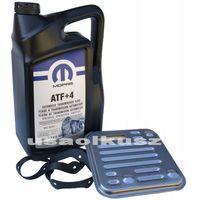 Pozostałe oleje, smary i płyny samochodowe, Olej MOPAR ATF+4 oraz filtr automatycznej skrzyni 4SPD Fiat Freemont