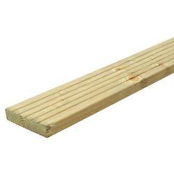 Deska tarasowa drewniana Blooma 2400 x 120 x 24 mm świerk