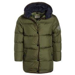 Scotch Shrunk LONG LENGTH WITH DOUBLE HOOD CONSTRUCTION Płaszcz zimowy military