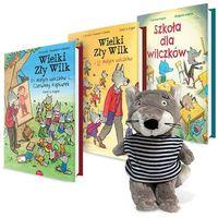 Książki dla dzieci, Wielki zły wilk zestaw książeczek (opr. twarda)