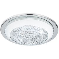 Lampy sufitowe, Plafon Eglo Acolla 95639 lampa sufitowa 1x8,2W LED chrom/biały
