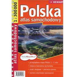 POLSKA. ATLAS SAMOCHODOWY 1 : 300 000 (opr. miękka)