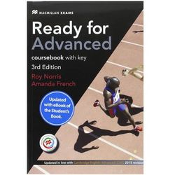 Ready for Advanced (CAE) (3rd Ed) Student´s Book & Key, Macmillan Practice Online, Online Audio & eBook French, Amanda