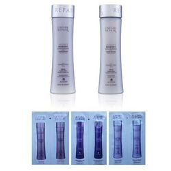 Alterna Caviar Repair Zestaw do włosów zniszczonych   szampon 250ml; odżywka 250ml + Losowo dobrana próbka Alterna gratis!