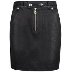 "Calvin Klein Spódnica ""Leather Skirt"""