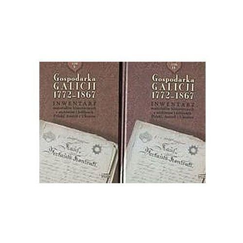 Pozostałe książki, Gospodarka Galicji 1772-1867 (opr. twarda)