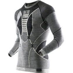 X-Bionic Apani Merino By Fastflow Bielizna górna Mężczyźni szary/biały XXL 2018 Koszulki bazowe z długim rękawem Przy złożeniu zamówienia do godziny 16 ( od Pon. do Pt., wszystkie metody płatności z wyjątkiem przelewu bankowego), wysyłka odbędzie się tego samego dnia.