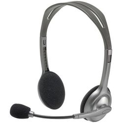 LOGITECH H110 Stereo Headset microphone with noise-cancelling 3.5mm stereo-jack