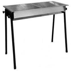 Hendi Grill na węgiel drzewny Patio | 2 x 345x345mm | 770x380x(H)760mm - kod Product ID