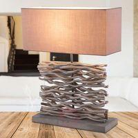 Lampy stołowe, Globo Jamie Lampa stołowa Siwy, 1-punktowy - - Obszar wewnętrzny - Jamie - Czas dostawy: od 4-8 dni roboczych