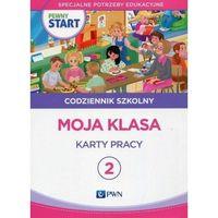 Książki dla dzieci, Pewny start Codziennik szkolny 2 Moja klasa Karty pracy (opr. miękka)