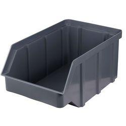Plastikowy pojemnik warsztatowy - wym. 441 x 290 x 213 - kolor szary