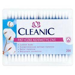 CLEANIC 200szt Patyczki kosmetyczne pudełko