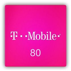 Doładowanie T-Mobile 80 zł