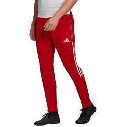 Spodnie męskie adidas Tiro 21 Training czerwone GJ9869